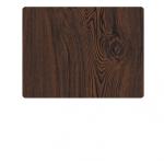 Профнастил під дерево Венге Woodlike (brown wenge)